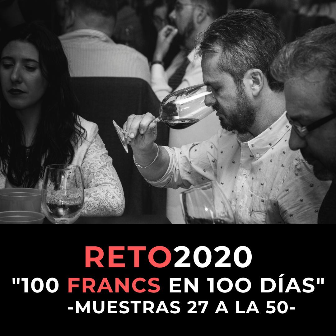 """SEGUNDO REPORTE RETO2020 """"100 FRANCS EN 100 DÍAS"""" MUESTRAS 27 A 50"""